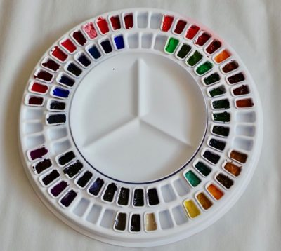 Watercolour Carousel Palette